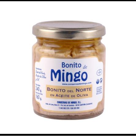 Bonito del norte en aceite de oliva 240g Mingo - Santoña