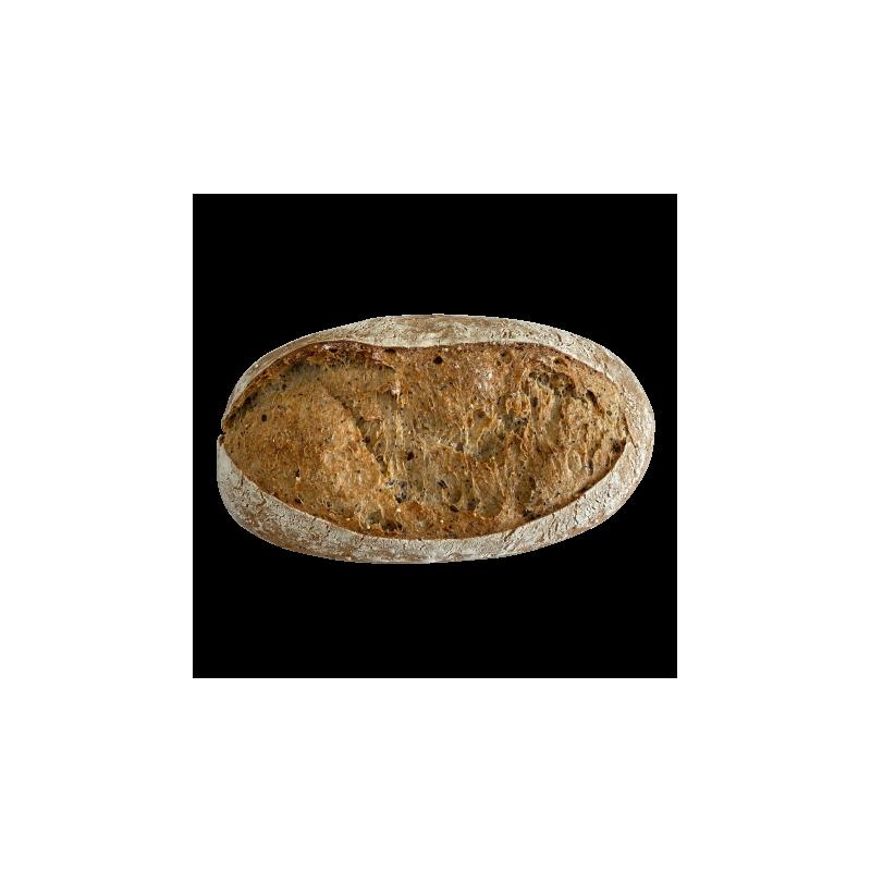 Pan de semillas masa madre
